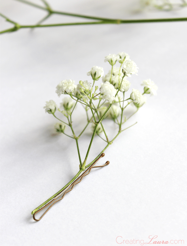 Baby's-breath-flower-hair-accessory-tutorial