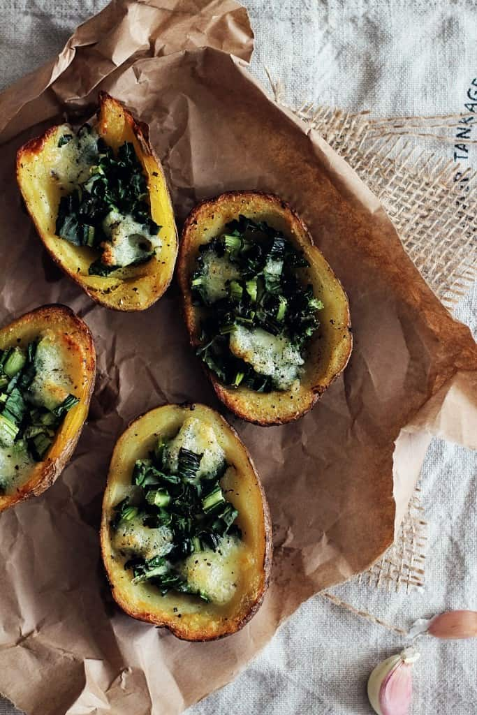 Kale Potato Skins