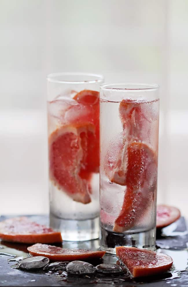 Infused Grapefruit Weight Loss Water | 3 Infused Water Ideas