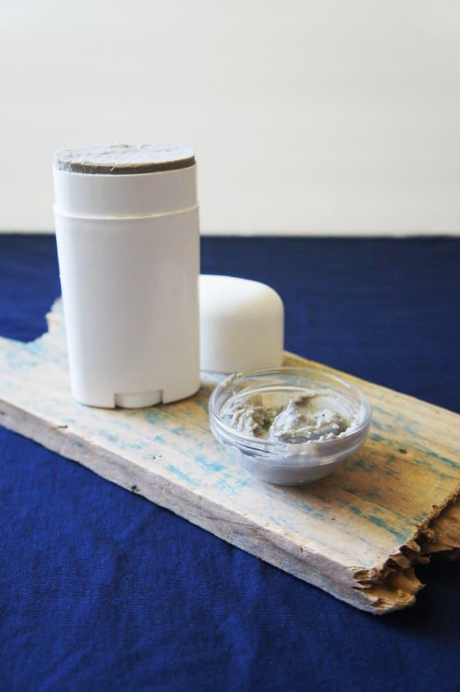 Coconut + clay deodorant
