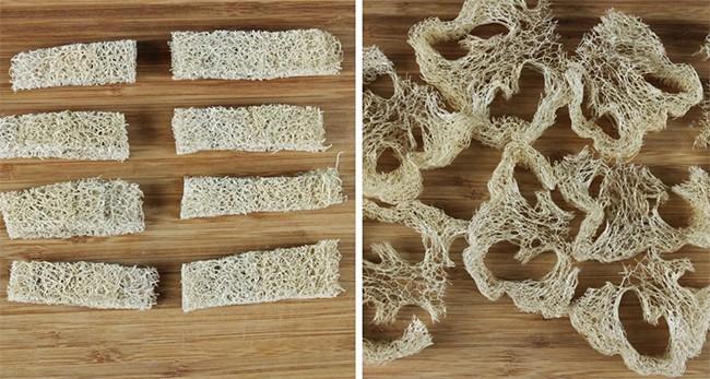 DIY Melt & Pour Loufah Soaps | HelloGlow.com