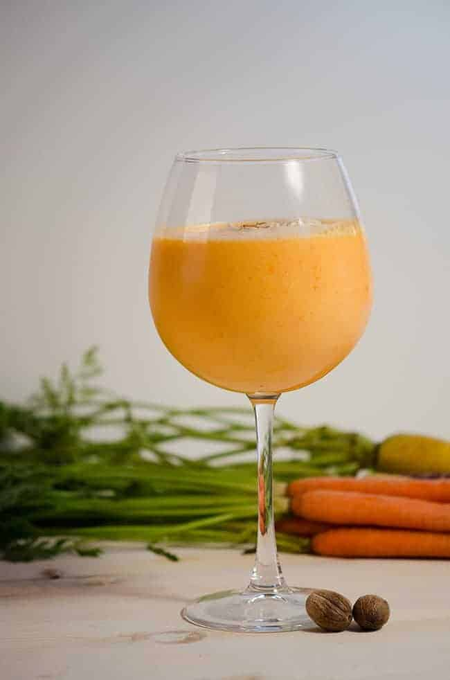 Beta Carotene Carrot Smoothie