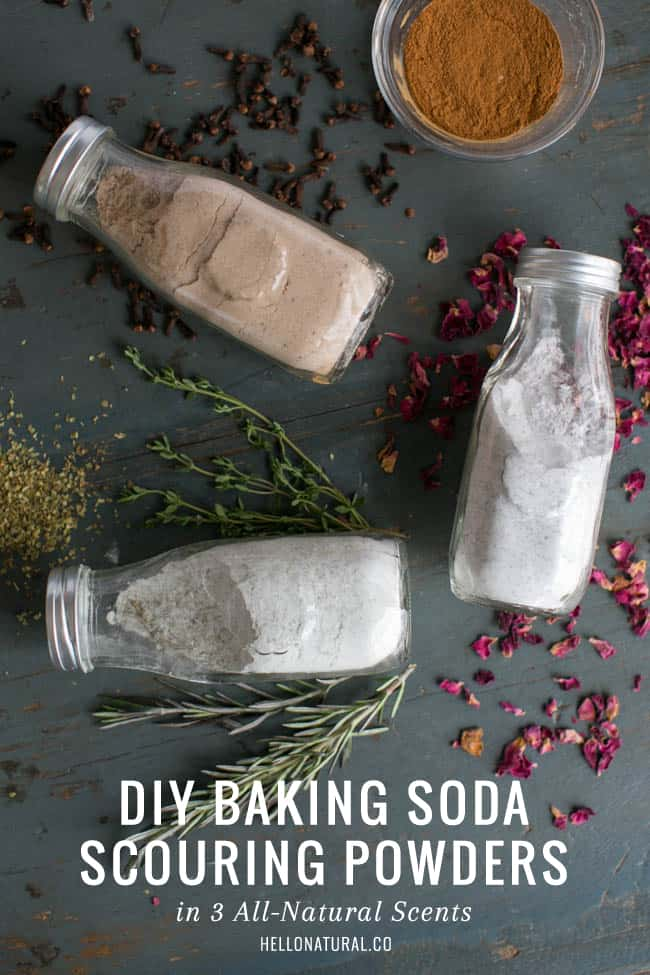 DIY Baking Soda Scouring Powder