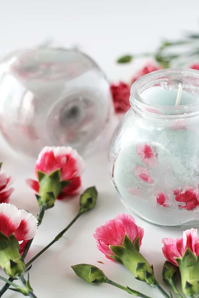 Lilin bunga | Halo Glow