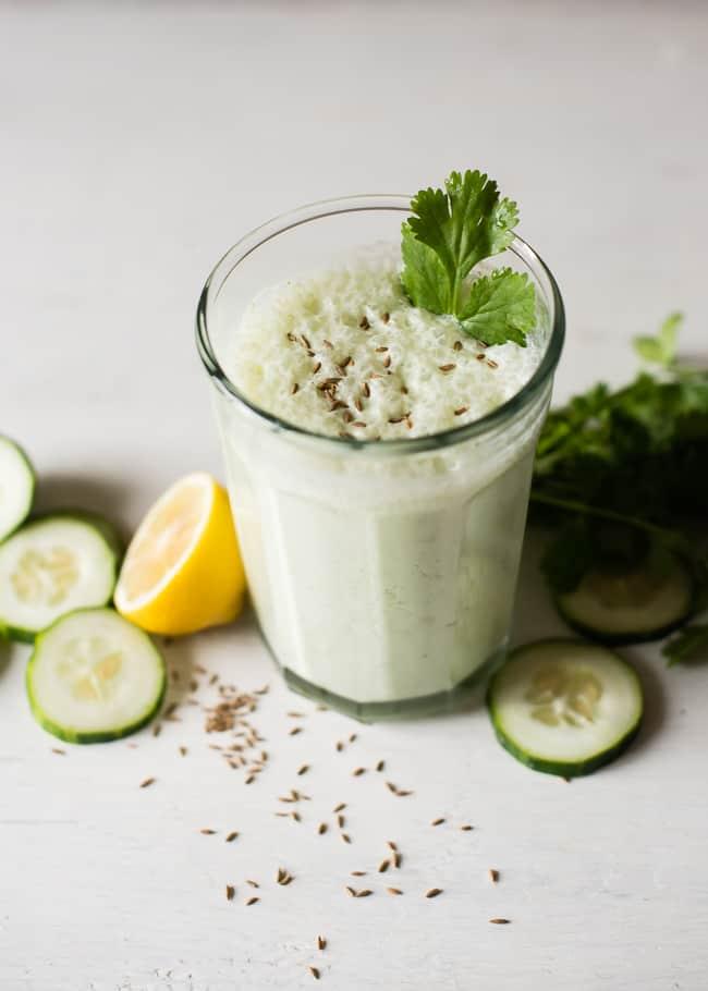 Probiotic smoothie with kefir