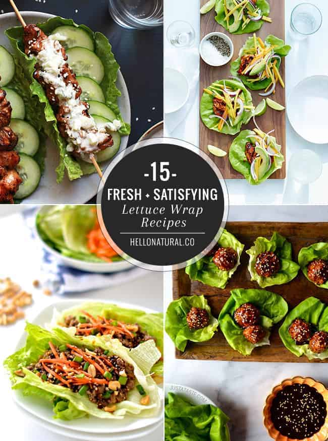 15 Lettuce Wrap Recipes
