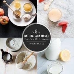 5 Natural AHA Face Masks You Can Make At Home