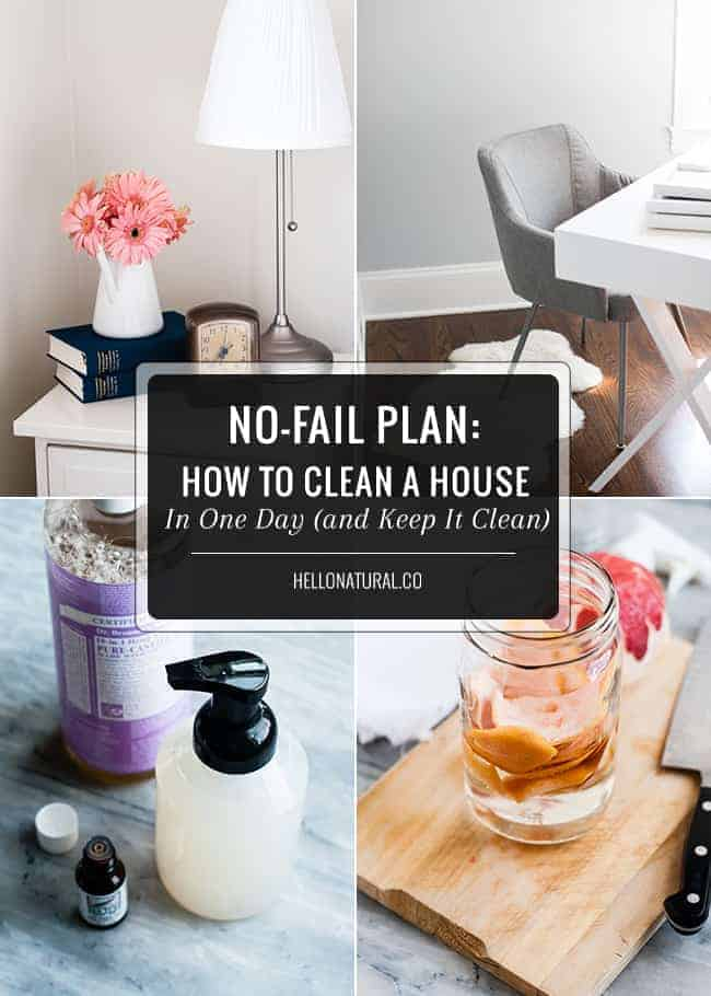 how to spring clean your house and keep it clean