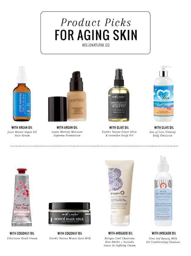 Oils for Aging Skin