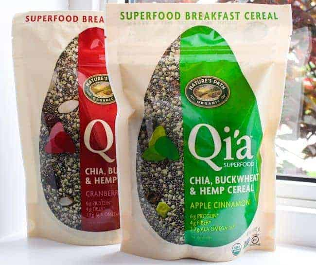 Nature's Path Qi'a Superfood Granola Giveaway | HelloGlow.co