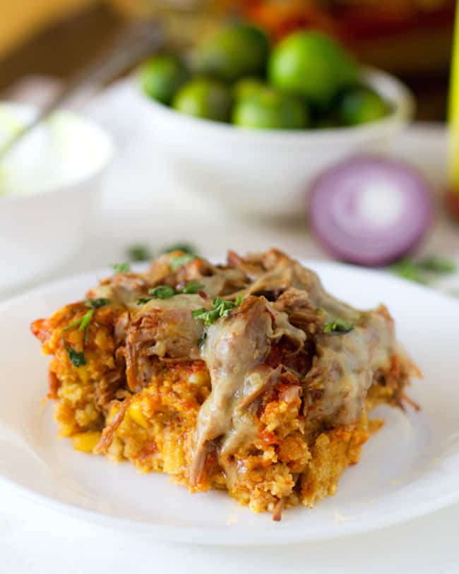 Tamale Casserole | A Week of Meals from 1 Slow Cooker Recipe