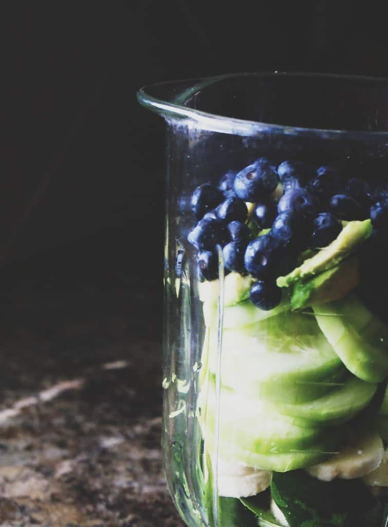 Blueberry Avocado Detox Smoothie