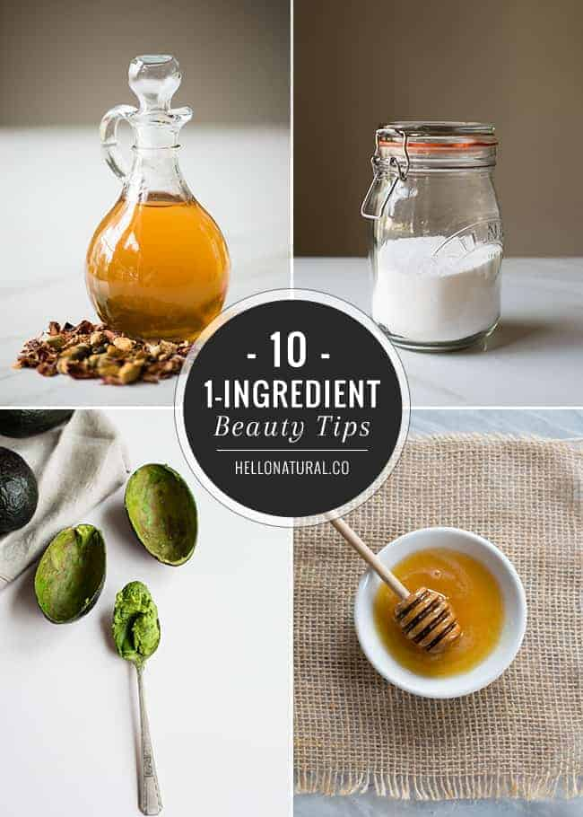 10 1-Ingredient Natural Beauty Tips | Hello Glow