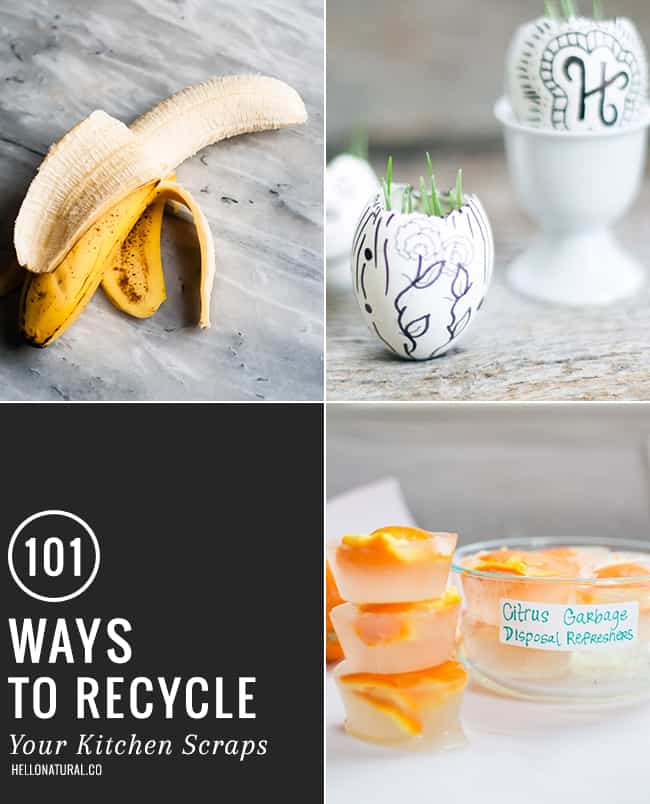 101 Ways To Recycle Kitchen Scraps