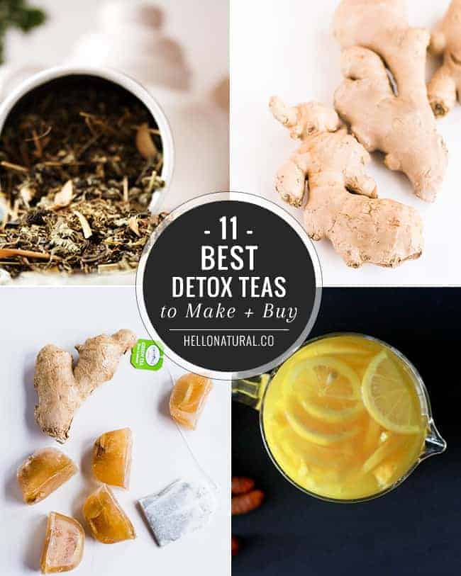 11 Best Detox Teas To Make + Buy