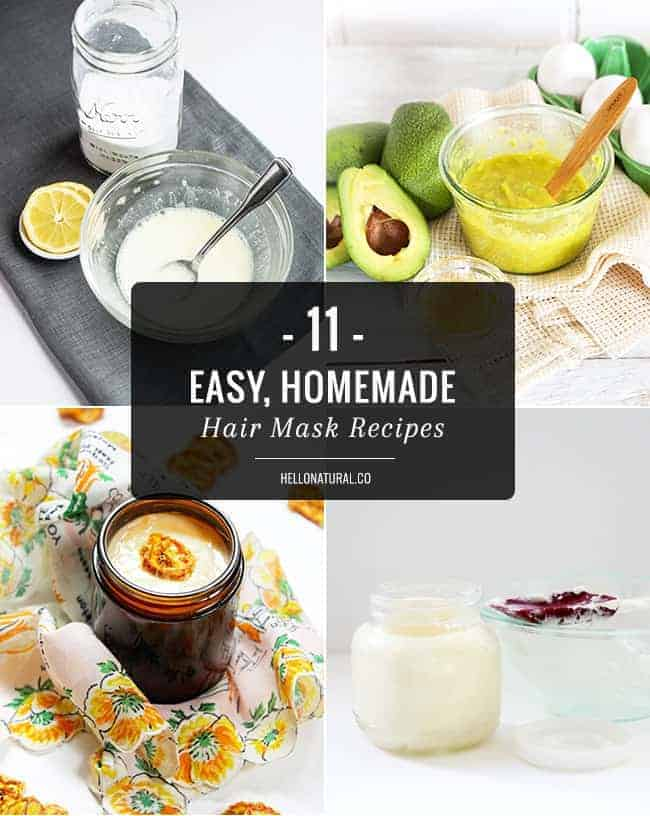 11 Easy, Homemade Hair Mask Recipes