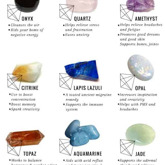 12 Healing Crystals for Every Ailment (+ How to Use Them) | HelloGlow.co