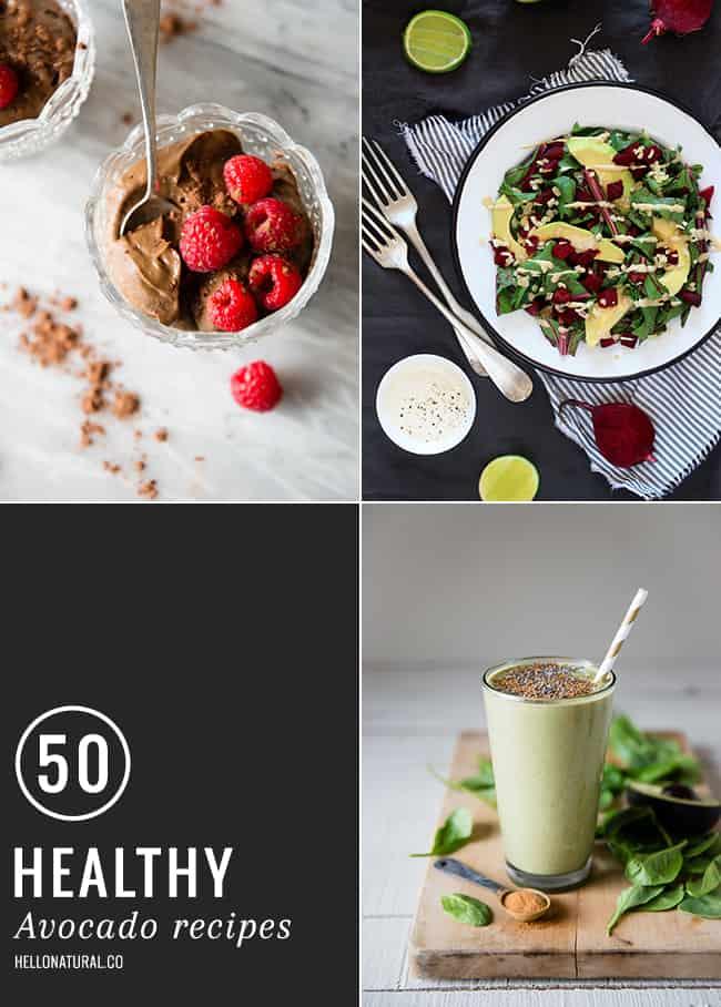 50 Healthy Avocado Recipes