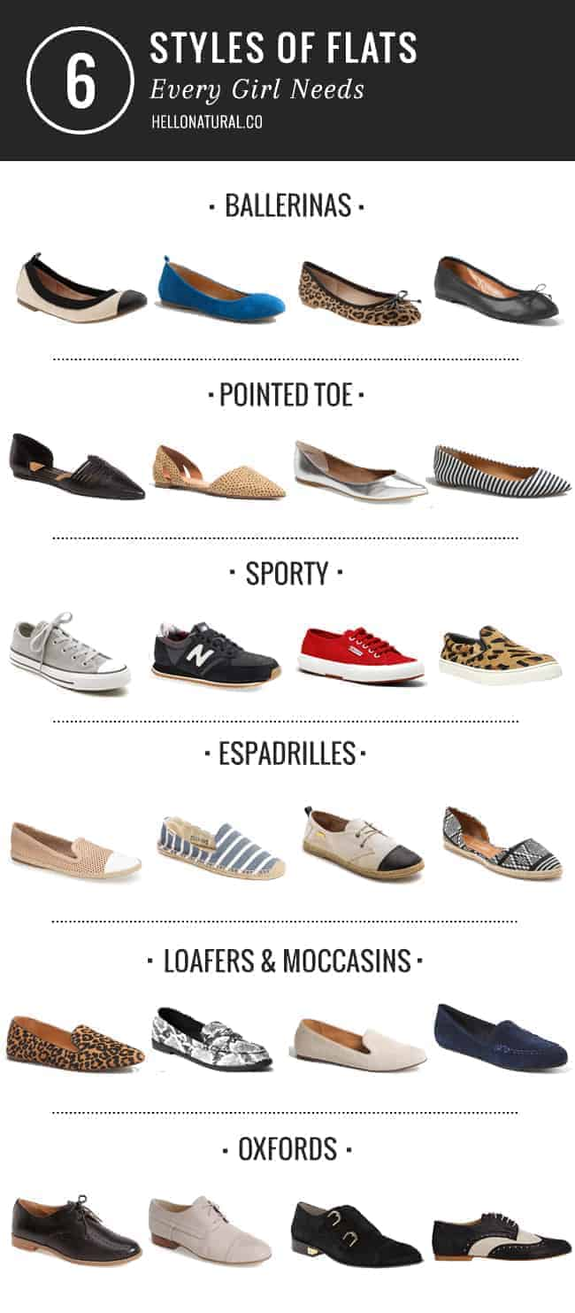 6 Flats Every Girl Needs