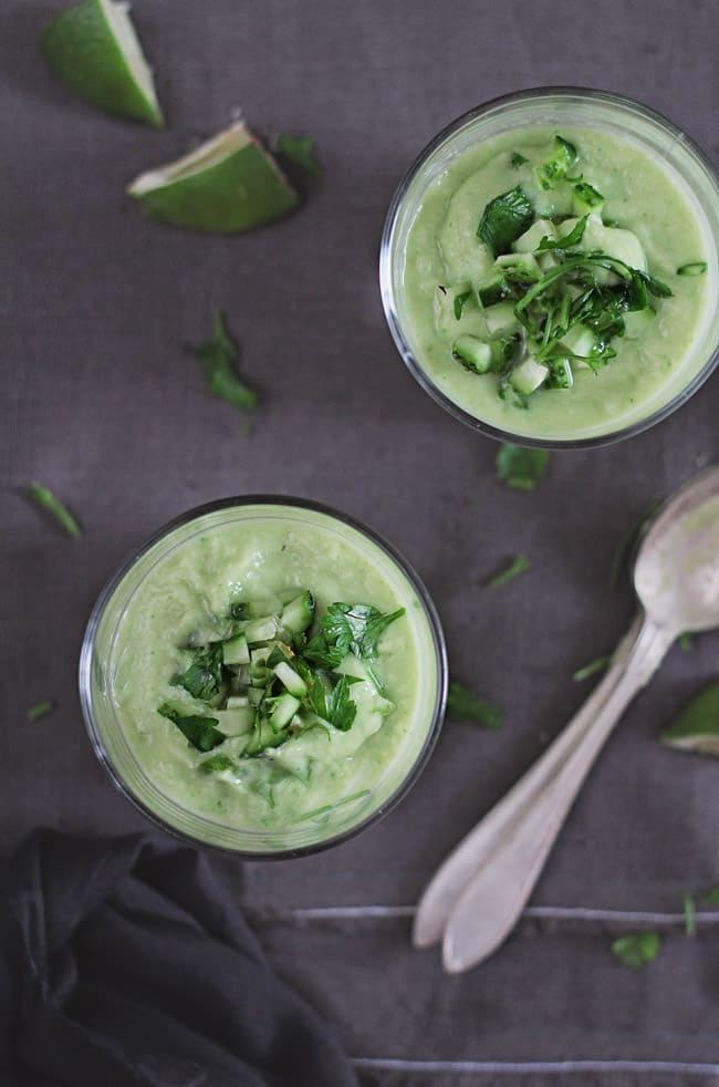 The Beauty Benefits of Avocado + An Avocado Soup Recipe