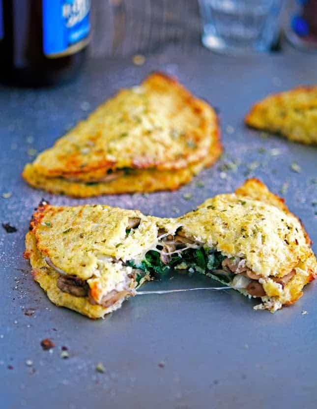 Cauli-Crust-Calzone