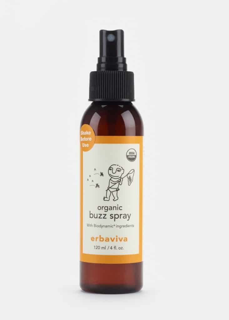 Erbaviva Organic Buzz Spray Bug Repellent