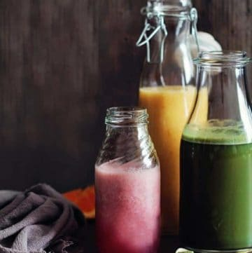 3 Homemade Energy Drinks