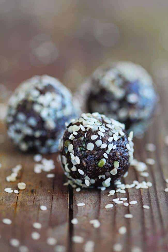 Tahini Energy Balls | 10 Energy Boosting Snacks