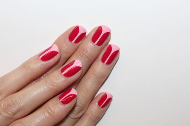 Tulip Nails   13 Ways to Wear Pink Nails