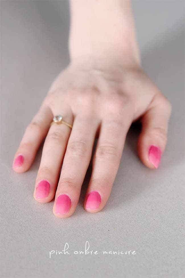 Pink Ombre Nails | 13 Pink Manicures