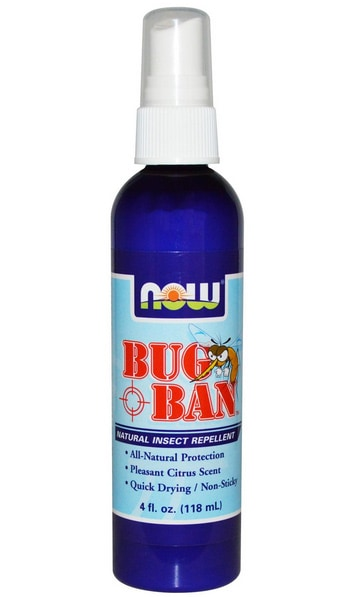 Now Foods, Bug Ban, Natural Insect Repellent