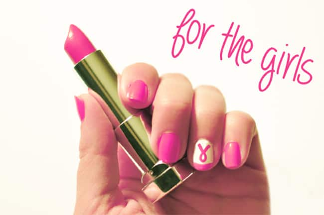 Breast Cancer Awareness Nails   13 Ways to Wear Pink Nails