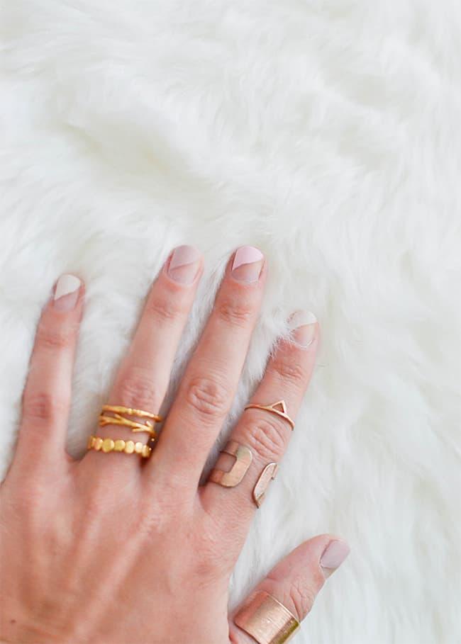 Pastel Matte Nails   13 Ways to Wear Pink Nails