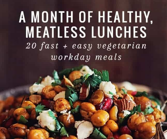No Fail Plan: A Month of Healthy Lunches Ebook (+ Cauliflower Couscous Recipe)