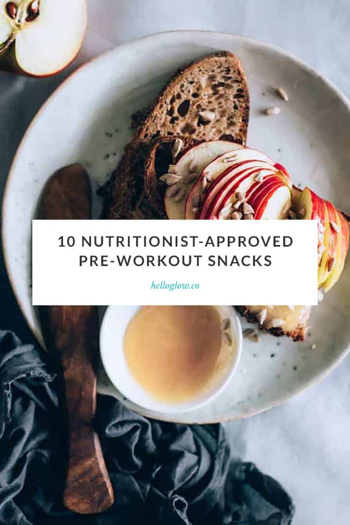 A Nutritionist Explains: The Best Pre-Workout Snacks