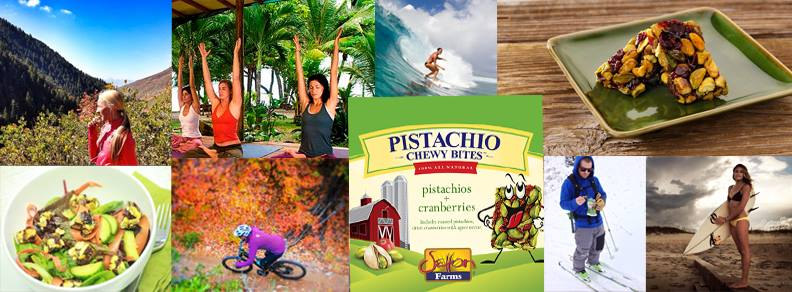 Pistachio Chewy Bites Giveaway | Hello Glow