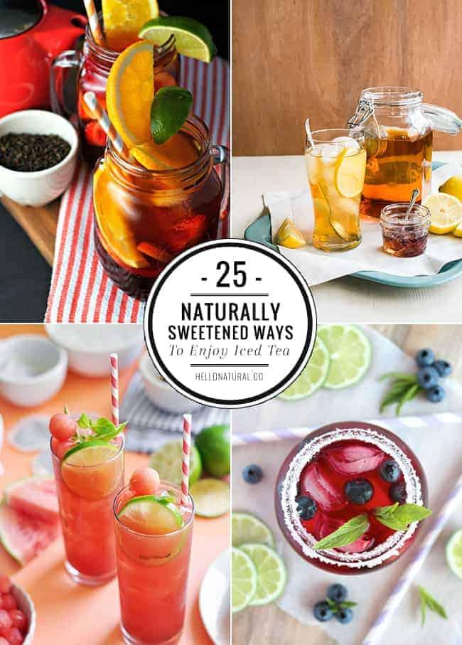25 Healthy Iced Tea Recipes for Summer
