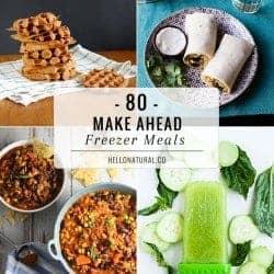 80 Make-Ahead Freezer Meal Recipes