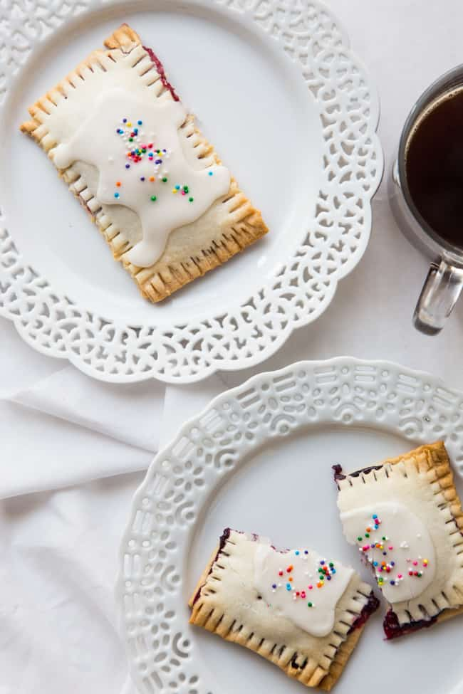 Homemade Blueberry Pop Tarts