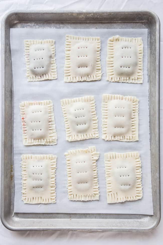 Homemade Blueberry Pop Tarts
