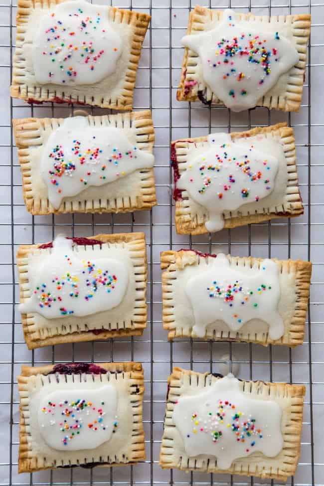 How To: Make Homemade Pop Tarts with Real Fruit