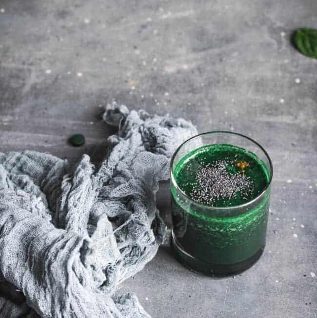 Green Spirulina Recipe