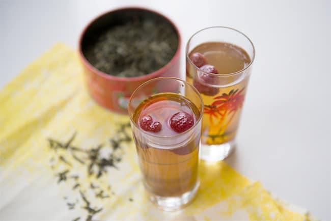 Strawberry Iced Tea   25 Healthy Iced Tea Recipes for Summer