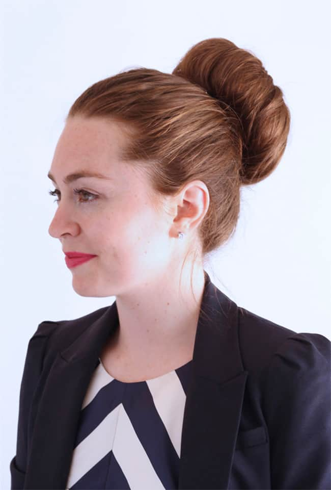 How to get the perfect bun by Ginger Side of Life   12 Bun Tutorials