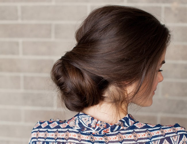 Sock bun 2.0 by Inspired by This | 12 Bun Tutorials