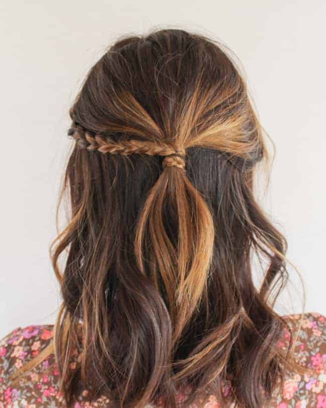Super 3 Chic Half Up Hairstyles With One Easy Technique Hello Glow Hairstyle Inspiration Daily Dogsangcom
