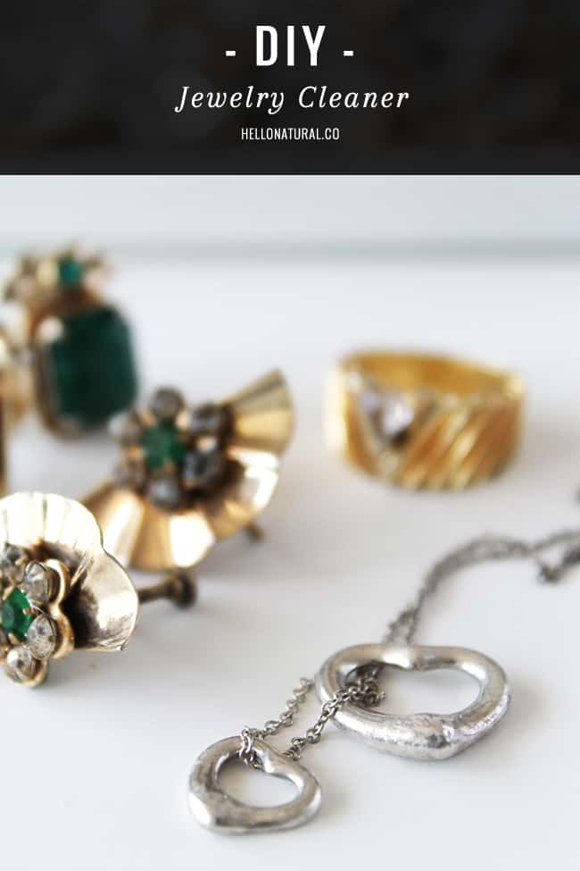 How To Make Your Own Jewelry Cleaner Hello Glow