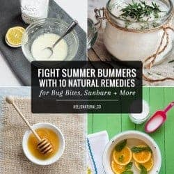 Fight Summer Bummers with 10 Natural Remedies for Bug Bites, Sunburn + More