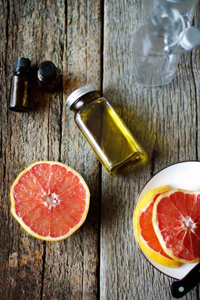 Grapefruit Essential Oil Cellulite Remedy