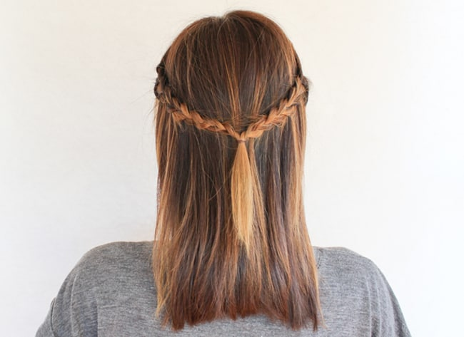 Half-Up Braid | 3 Half-Up Hair Styles